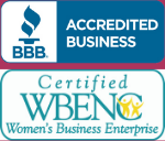 BBB A+ Rating Certified WBE